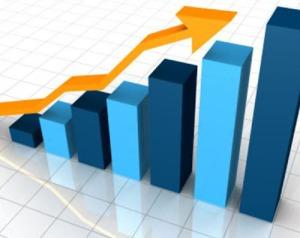 Business productivity graphs